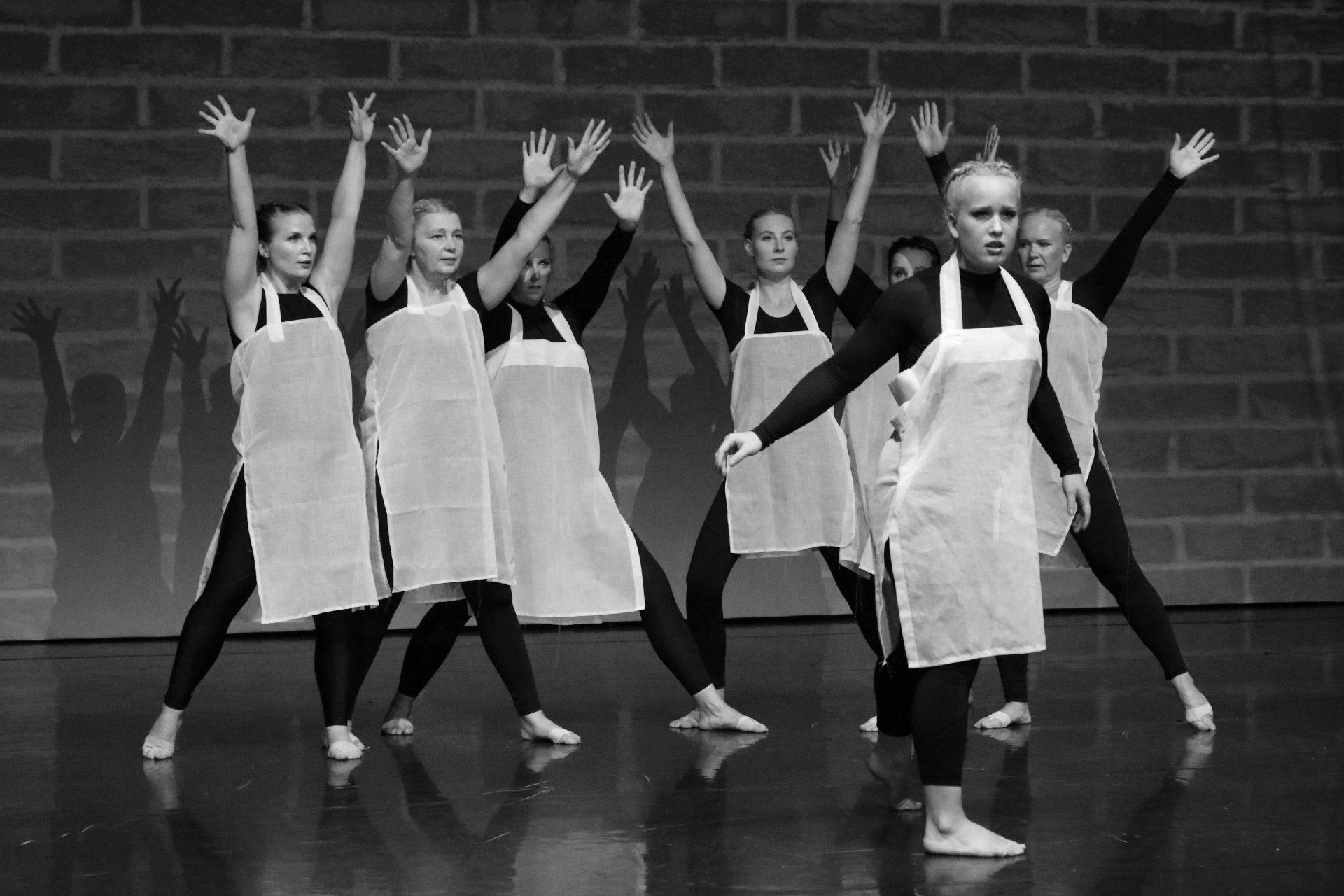 Kuva Pelastakaa Ballerinat ry:n esityksestä